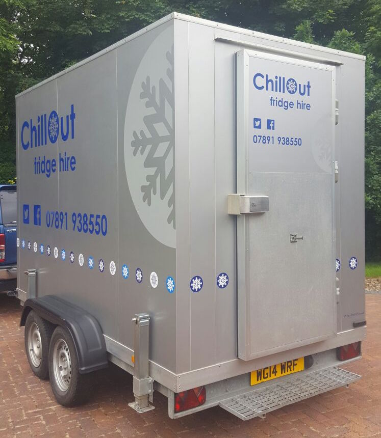 Chill Out Fridge Hire Refrigeration Trailer Hire Cornwall